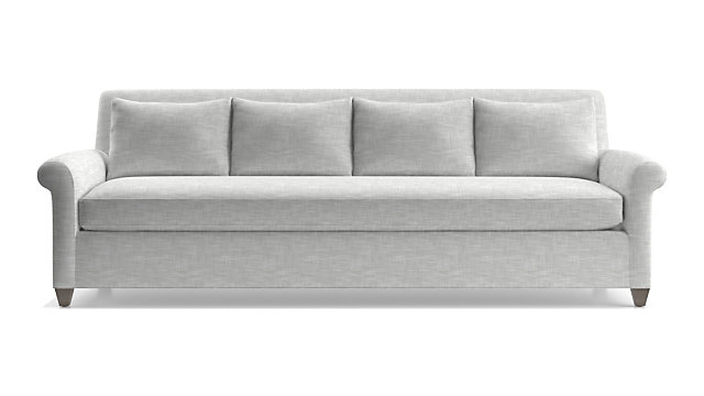 "Cortina 102"" Grande Sofa shown in Winward, Snow"