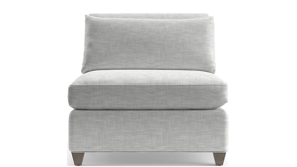 Cortina Armless Chair - Image 2 of 2
