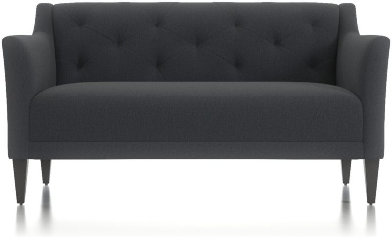 Margot Ii Tufted Loveseat by Crate&Barrel