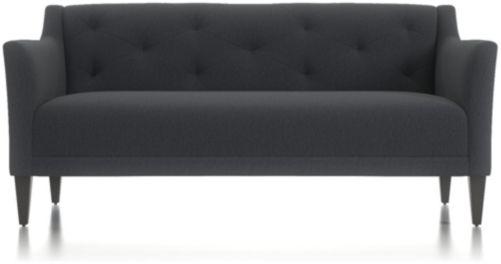 Margot II Tufted Sofa shown in Portrait, Night