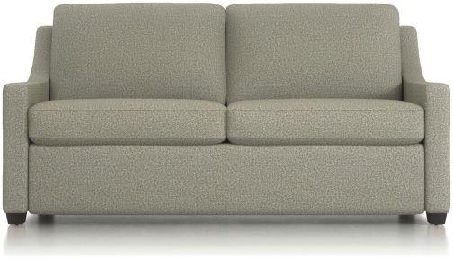 "Perry 71"" Queen Sleeper Sofa shown in Nordic, Fog"