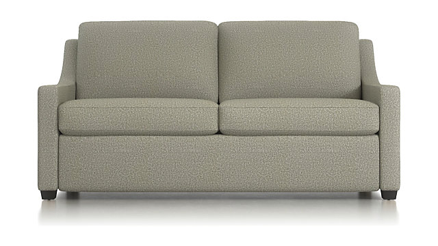 "Perry 71"" Queen Sleeper Sofa shown in Nordic, Fog"
