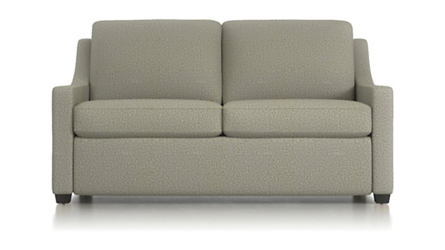 Perry Full Sleeper Sofa shown in Nordic, Fog