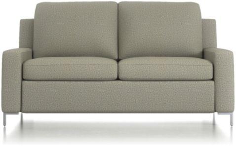 Bryson Full Sleeper Sofa shown in Nordic, Fog