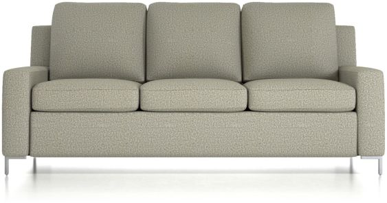 Bryson King Sleeper Sofa shown in Nordic, Fog