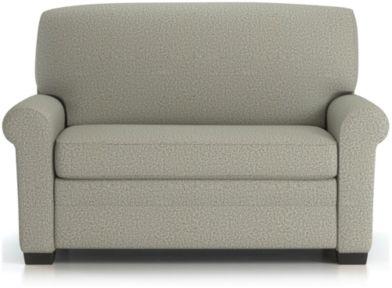 Gaines Twin Sleeper Sofa shown in Nordic, Fog