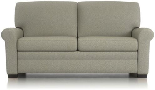 Gaines Full Sleeper Sofa shown in Nordic, Fog