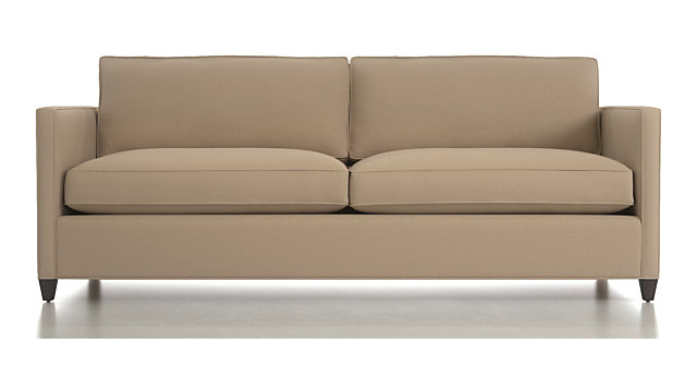 Tap To Zoom Dryden Queen Sleeper Sofa With Air Mattress Shown In Diamond Flax