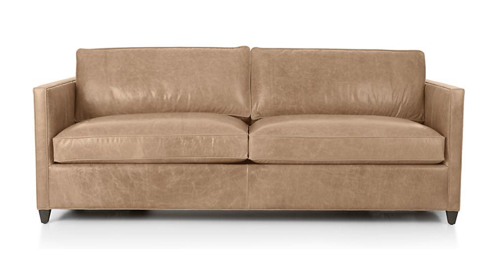 Dryden Leather Sofa; Dryden Leather Sofa ...