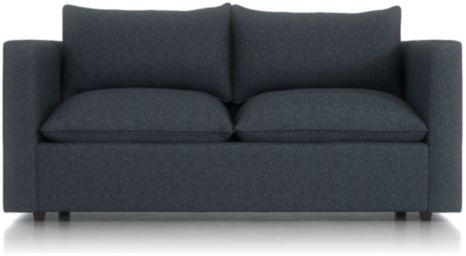 Lotus Petite Low Sofa shown in Nordic, Sea