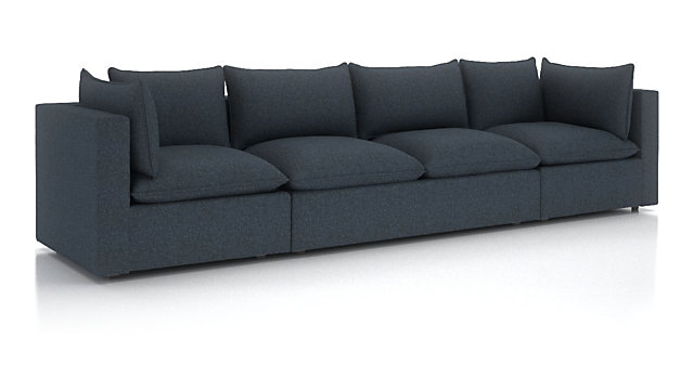Piece Extra Long Low Sofa Sectional