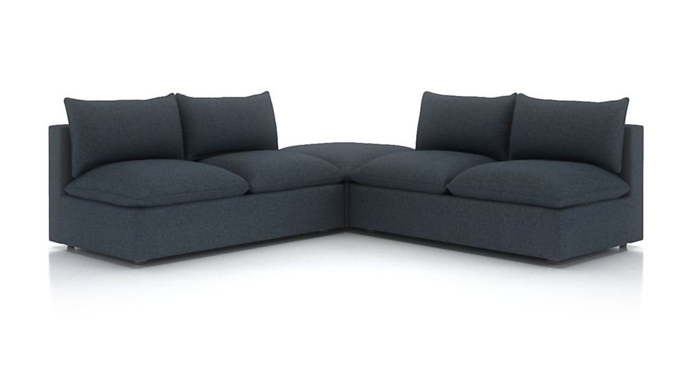 Lotus Petite Modular 3-Piece Low Sectional - Image 2 of 3