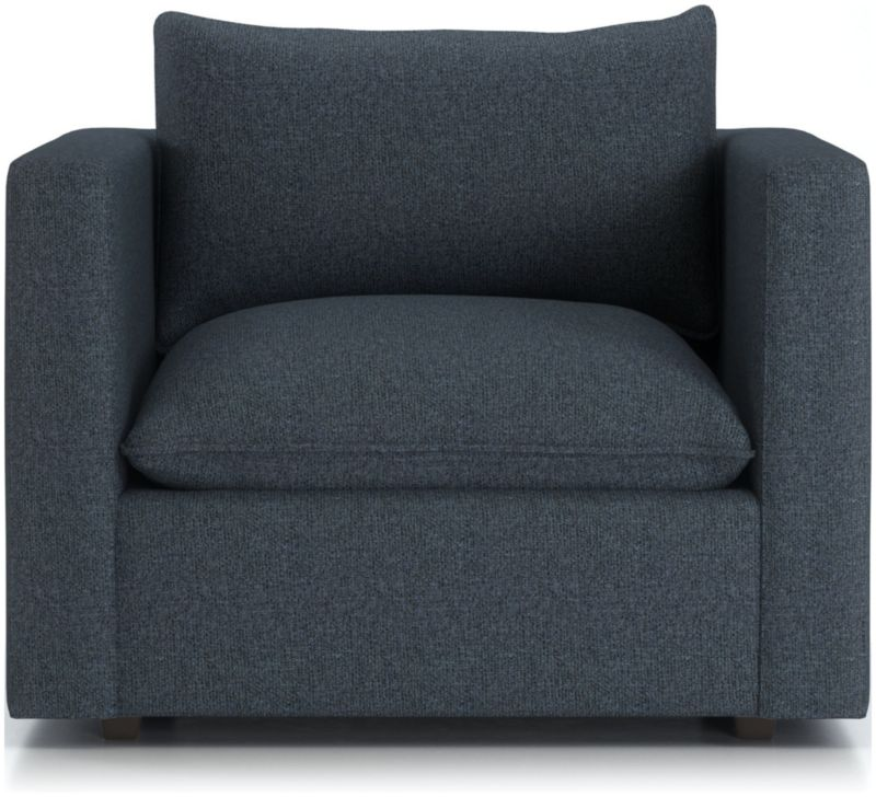 Lotus Petite Low Chair and a Half + Reviews | Crate and