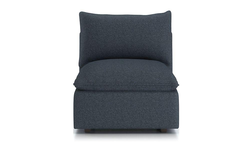 Lotus Petite Modular Armless Low Chair - Image 2 of 6