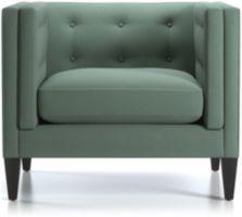 "Aidan 38"" Tufted Chair shown in Cole, Bay"