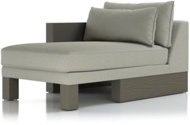 Winstead Left Arm Chaise shown in Profile, Cloud