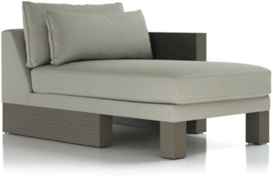 Winstead Right Arm Chaise shown in Profile, Cloud