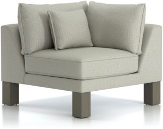Winstead Corner Chair shown in Profile, Cloud