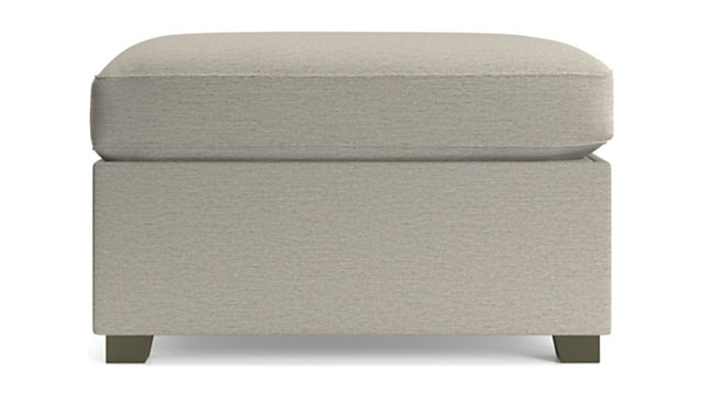 Hayward Storage Ottoman shown in Tahoe, Blizzard