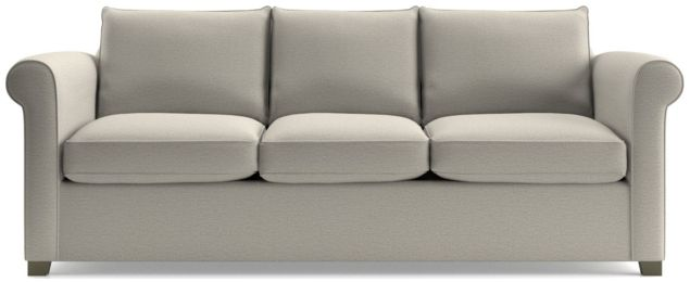 Hayward 3-Seat Rolled Arm Sofa shown in Tahoe, Blizzard
