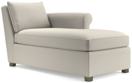 Hayward Right Arm Chaise shown in Tahoe, Blizzard