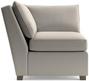 Hayward Corner Chair shown in Tahoe, Blizzard