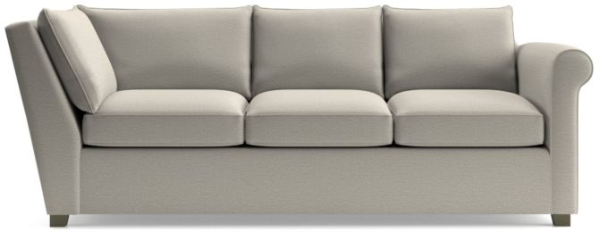 Hayward Right Arm Corner Sofa shown in Tahoe, Blizzard