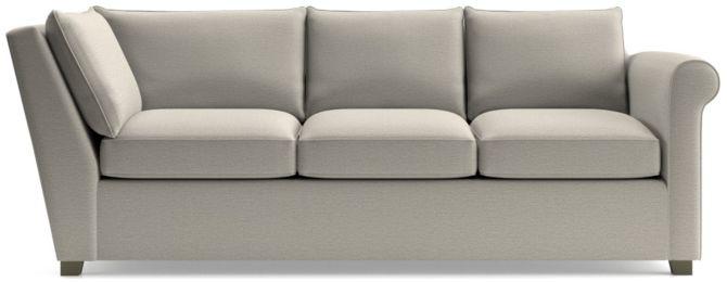 Hayward Right Arm Corner Sofa shown in Tahoe, Blizzard