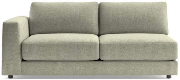 Peyton Left Arm Sofa shown in Macey, Cashmere