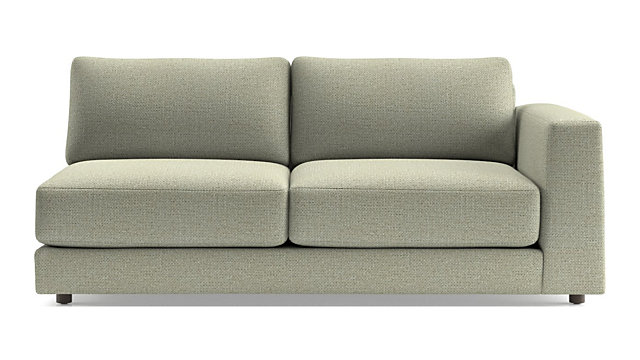 Peyton Right Arm Sofa shown in Macey, Cashmere
