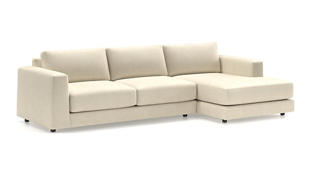 Peyton 2-Piece Sectional shown in Van Gogh, Oyster