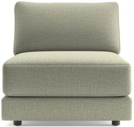 Peyton Armless Chair shown in Macey, Cashmere