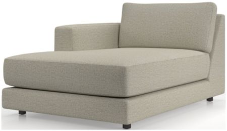 Peyton Left Arm Chaise shown in Macey, Cashmere