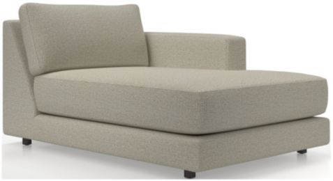 Peyton Right Arm Chaise shown in Macey, Cashmere