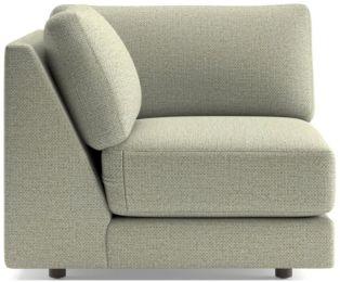 Peyton Corner Chair shown in Macey, Cashmere
