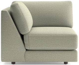 Peyton Corner Chair shown in Macey, Cashmere