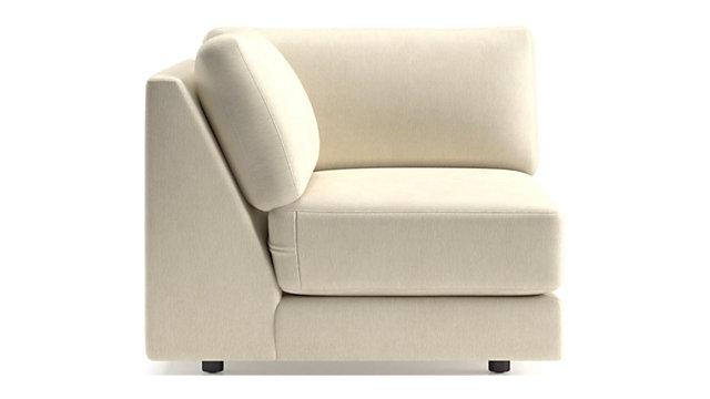 Peyton Corner Chair + Reviews | Crate