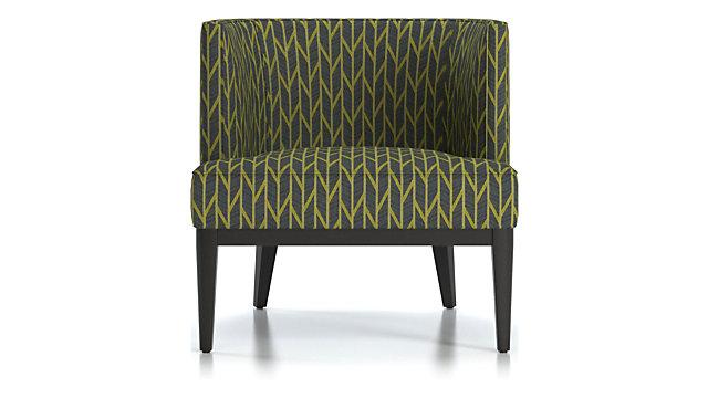 Grayson Chair shown in Caprio, Citrine