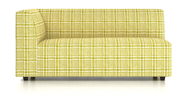 Kinsley Left Arm Sofa shown in Piana, Limoncello