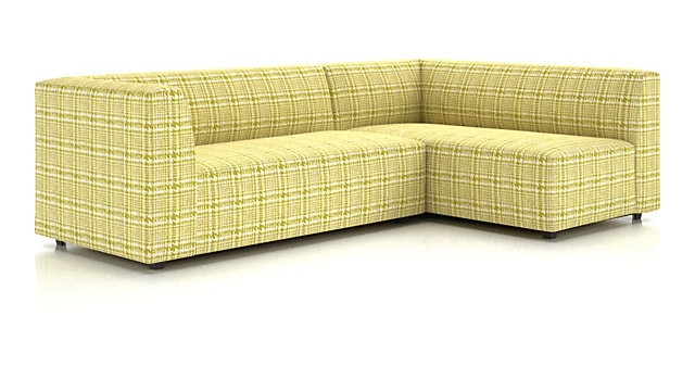 Kinsley 2-Piece Sectional shown in Piana, Limoncello