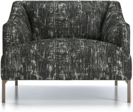 Skylar Chair shown in Glacier, Tuxedo