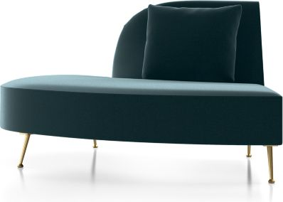 Bellevue Left Arm Chaise shown in Como, Capri