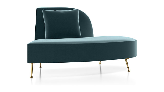 Bellevue Right Arm Chaise shown in Como, Capri