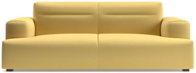 Kirby Deep Cushion Sofa shown in Devon, Maize