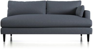 Monahan Right Arm Loveseat Sofa shown in Desi, Ink
