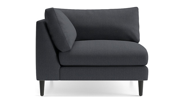 Monahan Corner Chair shown in Desi, Ink