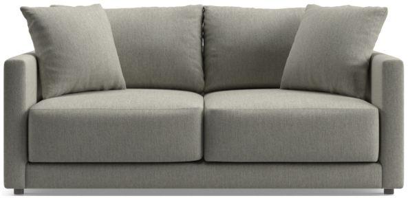 Gather Apartment Sofa shown in Icon, Metal