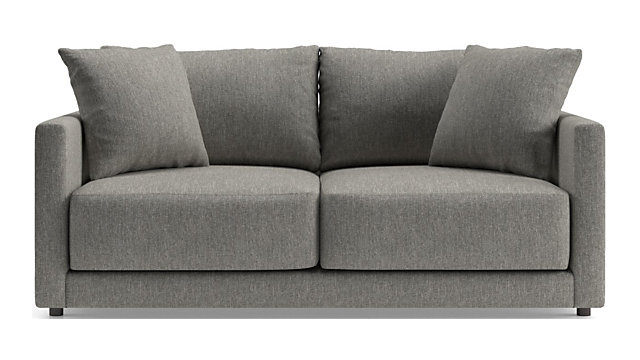 Gather Apartment Sofa shown in Icon, Metal