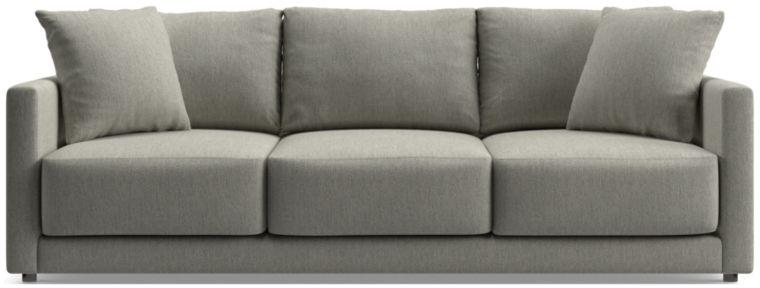 "Gather 98"" Sofa shown in Icon, Metal"
