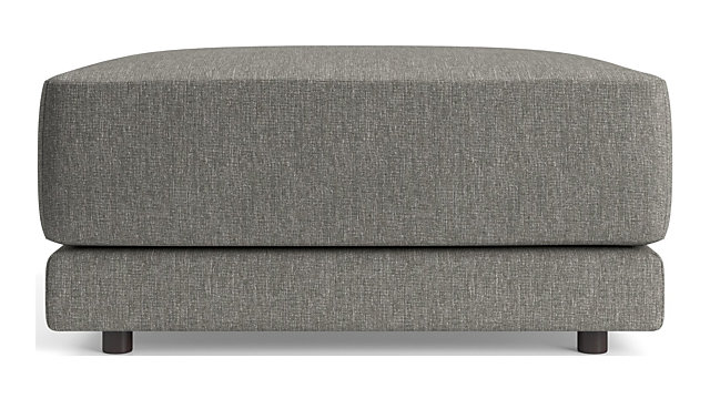 Gather Cocktail Ottoman shown in Icon, Metal